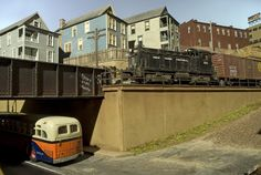 The Token Three Railer: The Art of Model Railroad Photography by Dennis Brennan