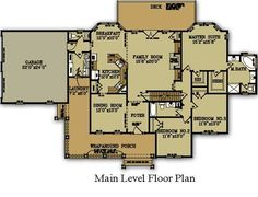 Ranch Style Floor Plan