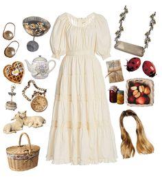 Retro Outfits, Vintage Outfits, Vintage Fashion, Rustic Outfits, Aesthetic Fashion, Aesthetic Clothes, The Dress, Vintage Dresses, Ideias Fashion
