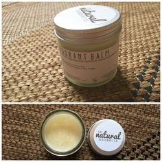 Review - The Natural Deodorant Co Clean Deodorant Balm Vanilla Manuka