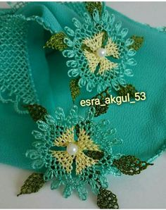 Needle Lace, Lace Making, Knots, Diy And Crafts, Crochet Hats, Knitting, How To Make, Kebaya, Salons