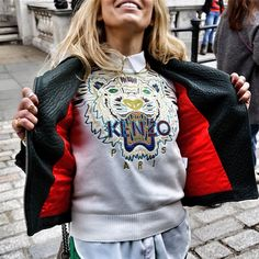 Love lei van kash ..also I need that ubiquitous kenzo sweatshirt. I'll take a knockoff!