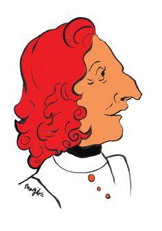 Pen and ink illustration of Italian composer Antonio Vivaldi by Arty Margit Ink Illustrations, Disney Characters, Fictional Characters, Disney Princess, Art, Art Background, Kunst, Performing Arts, Fantasy Characters