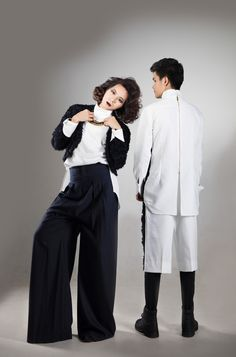 The Tempting One - Wearing Laim Win's collection. #fashion #unisex #vampire #laimwin #valentinevu