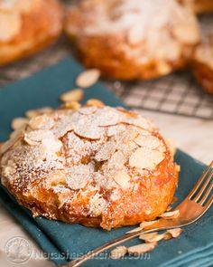 Almond Croissants Recipe (French Bakery Style) post image