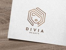 Divia Beauty Logo by IKarGraphics on @creativemarket