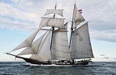 Two Masted Topsailschooner 'Jacob Meindert' | Olivier van Meer Design Naval Architect