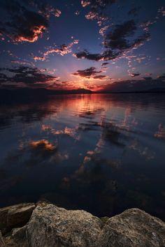 *Salton Sea Sunset (by Rich Bitonti)