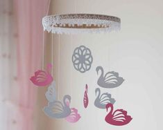 Cute Baby Mobiles & Nursery Decors by DreamFlakeShop on Etsy