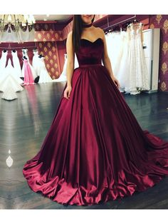 Ball Gown Sweetheart Long Prom Formal Evening Party Dresses 996021327