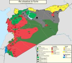 #Syria MAP: situation in Syria as of 13-04-2014, #Qalamoon, #Kessab #DeirezZor. zoomable file: pietervanostaeyen.wordpress.com/2014/04/13/mapping-syria-april-2014/ pic.twitter.com/A95QnQR3xq