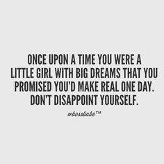 I still remember my BIG dreams as a little girl!! Why not me... Someday somehow I am gonna reach those goals!!!  Day by day: eye on the prize : blinders on & focus on being the best at everything you do!!! Don't ever let anyone tell you that your big dreams are not worth it!! #whynotyou