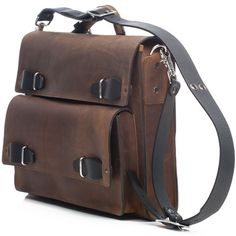"This versatile briefcase converts into a remarkably comfortable backpack. A removable T-strap connects the center of the shoulder strap to the handle, allowing the case to sit low on the back and off the shoulders.  A large zippered drop pocket offers easy access to the main compartment where an elastic sleeve holds a 17"" laptop firmly to the back of the bag.  Meanwhile, the roomy front pocket allows for easy separation of bulky items like chargers & cameras. #ShopifyPicks"