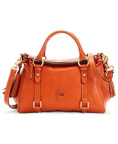 Dooney & Bourke Handbag, Florentine Vachetta Small Satchel - Handbags & Accessories - Macys