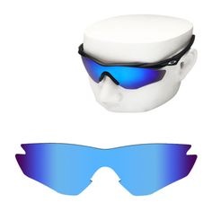 oakley m2 replacement lenses i7fw  Blue Mirror Replacement Sunglass Lenses for-Oakley M2 Frame POLARIZED