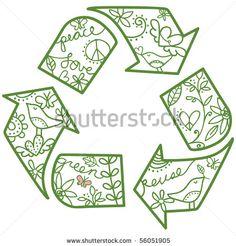 Reuse. Love. Green. Peace.