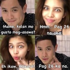 Aldub memes 3 Pick Up Line Jokes, Pick Up Lines, Maine Mendoza, Alden Richards, Fantastic Baby, Happy Thoughts, Chemistry, Things To Come, Lol