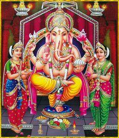 Shri Ganesh! LORD GANESHA ॐ Shiva Art, Ganesha Art, Hindu Art, Ganesh Photo, Ganesh Lord, Lord Shiva Family, Om Namah Shivay, Lord Shiva Painting, Shree Ganesh