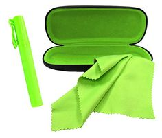 0a6b0aa1be1 Eyeglasses Case Set Includes Eyeglass Case Eyeglass Cleaner Spray and  Microfiber Cloth Great for All Eyewear