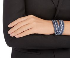 LOVE. Slake Pulse Bracelet from #Swarovski
