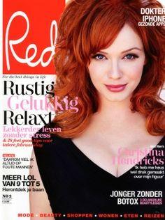 Oroblu in het blad Red 2 februari 2011 - cover