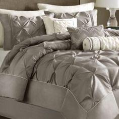 California King Bedding Set Gray