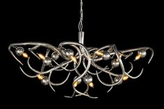 EVE Collection, design by William Brand. #chandelier #hanginglamp #interior