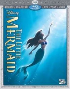 DISNEYS LITTLE MERMAID CONFIRMED ON BLU-RAY 3D  Rumors that Disney is cancelling The Little Mermaid 3D seems more and more wrong as the Combo box including the stereoscopic version on Blu-ray 3D is now announced and available for pre-order with a delivery date of October 1st, 2013.  The combo box is offered for as low as 34.95$ in various online shops.