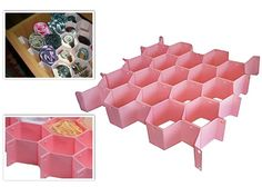 Petek Çekmece Düzenleyici (8 Parça) Ice Tray, Silicone Molds, Stop It