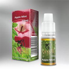 Liquid Vogell - Apple mint - Orzeźwiający smak jabłka z miętą - http://vogell.pl/#!/page_Vogell