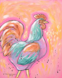 The Fantastical Rooster by Kimberly Naumann. Available for sale!