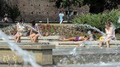 Águas de Pontal: Temperatura de verões europeus são as mais altas e...