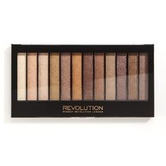 Makeup Revolution, Redemption Palette, paleta cieni do powiek Essential Shimmers, 14 g - Makeup Revolution