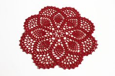 Ravelry: Petite Pineapple Doily pattern by Priscilla Hewitt
