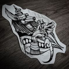 Tattoo Designs for Future Tattoos - Art - Tattoo Dog Tattoos, Black Tattoos, Body Art Tattoos, Sleeve Tattoos, Anubis Tattoo, Tattoo Sketches, Tattoo Drawings, Future Tattoos, Tattoos For Guys