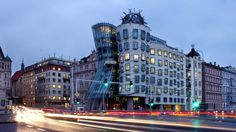 Dancing House. Luxury Office for rent.