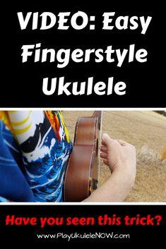Play Ukulele Now: VIDEO: Easy fingerstyle ukulele for beginners - Play two songs! Ukulele Fingerpicking Songs, Ukulele Chords Songs, Cool Ukulele, Ukulele Songs Beginner, Song Play, Kids Songs, Playing Guitar, Disney Ukulele, Singing
