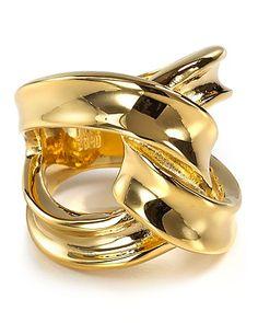 Robert Lee Morris Soho Gold Twist Ring | Bloomingdale's