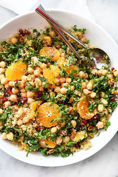 Quinoa and Kale Protein Power Salad