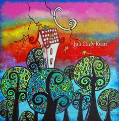 Art 'Higher Ground' - by Juli Cady Ryan from Inspirational