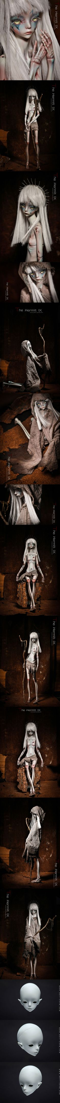 BJD Limited Edition Hermit IX 49cm Girl Ball-jointed Doll_Limited Edition_DOLLZONE_DOLL_Ball Jointed Dolls (BJD) company-Legenddoll