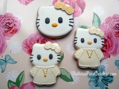 Galletas Hello Kitty primera comunión