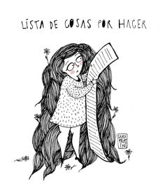 Sara Fratini - La historia de los lunes y sus listas de cosas por hacer / Mondays and its long to-do lists