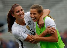 Alex Morgan & Tobin Heath (Talex)