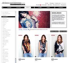 Modelsrock on Vitrines-Parisiennes.com