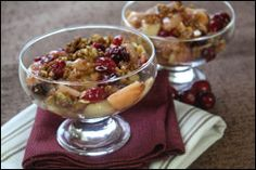 Hey, Sweetie! (New Winter Dessert Recipes!) Hot fruit crumble