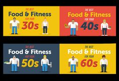 Eating, Exercise & Health Tips for Your 30s, 40s, 50s & 60s | LIVESTRONG.COM http://www.livestrong.com/blog/tips-eating-exercising-30s-40s-50s/