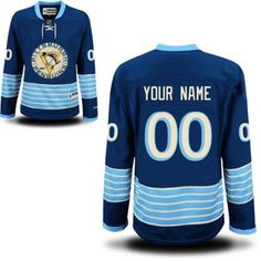 Reebok Pittsburgh Penguins Women's Premier Alternate Custom Jersey - Royal Blue
