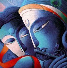 Lord Sri Krishna Painting by Dhananjay Mukherjee Krishna Painting, Krishna Art, Buddha Painting, Ganesha Art, Lord Krishna, Canvas Art, Canvas Prints, Art Prints, Art Visage