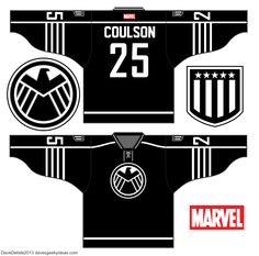 S.H.I.E.L.D. Hockey Jersey Design